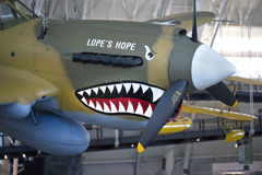 Curtiss π-40E Warhawk Στοκ φωτογραφίες με δικαίωμα ελεύθερης χρήσης