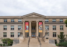 Curtiss Hall bij de Universiteit van de Staat van Iowa Royalty-vrije Stock Foto's