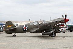 Curtiss P-40 Kittyhawk Stock Photos
