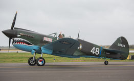 Curtiss P-40 Kittyhawk Stock Image
