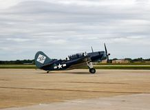 Curtiss SB2C Helldiver Fotografia Royalty Free