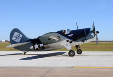 Curtiss SB2C Helldiver used by the Navy in WW2 Stock Images