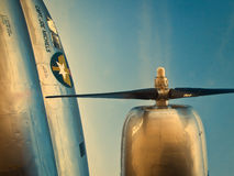 Curtiss-Wright C-46 kommando royaltyfri foto