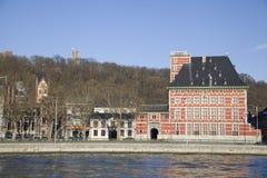 Curtius museum, Liege royaltyfria foton