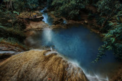 Curug Pulosari Royalty Free Stock Photography