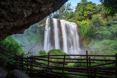 Curug Sewu. The wich waterfall in Kendal, Central Java Royalty Free Stock Photo