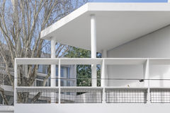 Curutchet House Le Corbuiser Design 免版税库存照片