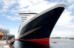 Curva 2 de Queen Mary Fotos de Stock