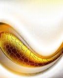 Curva abstrata Imagens de Stock Royalty Free