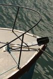 Curva abstrata de um barco Imagens de Stock Royalty Free