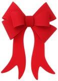 Curva & fita vermelhas Imagens de Stock Royalty Free