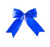 Curva azul do cabelo Imagem de Stock Royalty Free