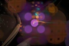 Curva brillante del fondo del diseño de la fantasía de la explosión de la llama de la imaginación de la onda digital abstracta de ilustración del vector