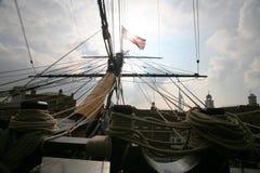 Curva conservada em estoque da vitória do HMS da foto Fotos de Stock