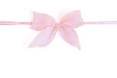 Curva cor-de-rosa Fotografia de Stock