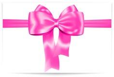 Curva cor-de-rosa ilustração stock