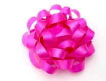 Curva cor-de-rosa Fotos de Stock