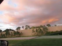 Curva da chuva Imagens de Stock