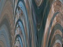 A curva da cor alinha o fundo Imagens de Stock Royalty Free