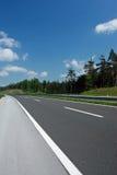 Curva da estrada Imagem de Stock Royalty Free