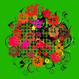 Curva da flor Fotografia de Stock