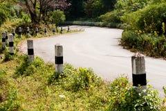 curva das estradas Foto de Stock