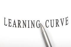 Curva de aprendizagem Imagem de Stock Royalty Free
