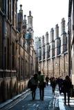 Curva de Cambridge Foto de Stock Royalty Free