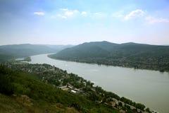 Curva de Danubio fotos de archivo libres de regalías