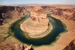 Curva de herradura Arizona Fotografía de archivo libre de regalías