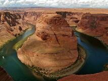 Curva de herradura Arizona Imagen de archivo