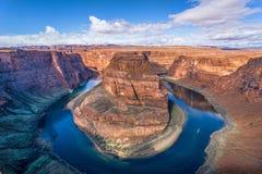 Curva de herradura, Arizona Fotografía de archivo libre de regalías