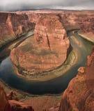 Curva de herradura Arizona Imagenes de archivo
