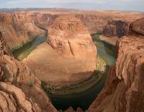 Curva de herradura Arizona Fotos de archivo libres de regalías