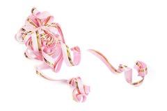 Decoração cor-de-rosa Fotos de Stock Royalty Free