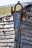 Curva de um estuário do wtrabness do naufrágio Fotografia de Stock