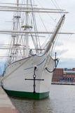 Curva de um navio Imagem de Stock Royalty Free