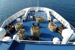 Curva de um navio Foto de Stock Royalty Free