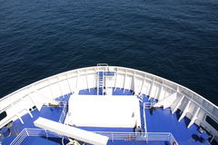 Curva de uma balsa Fotos de Stock Royalty Free