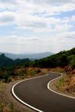 Curva del camino Imagen de archivo