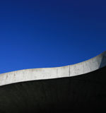 curva del concete Fotografia Stock Libera da Diritti