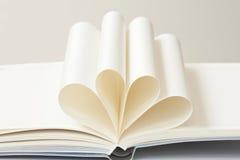 Curva del libro a dos dimensiones de una variable del corazón Fotos de archivo libres de regalías