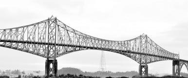 Curva del norte del puente de McCullough, O foto de archivo libre de regalías