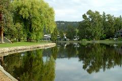 Curva del parque de Drake, Oregon imagenes de archivo