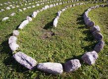 Curva delle rocce Fotografie Stock Libere da Diritti