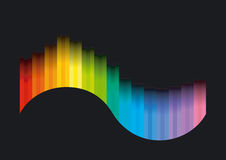 Curva di colore Fotografia Stock Libera da Diritti