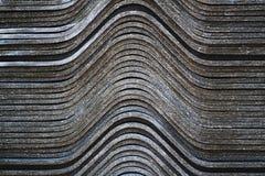 Curva di superficie del fondo Fotografia Stock