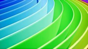 Curva do arco-íris para sua introdução ilustração do vetor