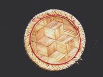 Curva do arroz Imagem de Stock