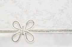 Curva do casamento no laço fotos de stock royalty free